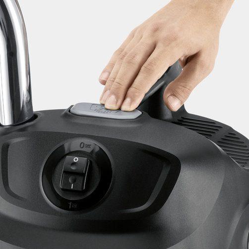 Kärcher ReBoost система за почистване на филтъра - почистване на филтъра с натискане на бутон