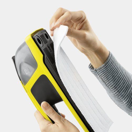 Лесна за поставяне микрофибърна кърпа