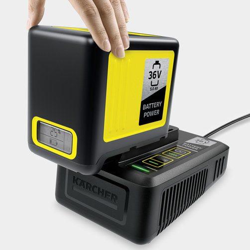 36 V бързо зарядно устройство